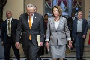 Speaker of the House Nancy Pelosi, Senate Minority Leader Chuck Schumer, D-N.Y., and other lawmakers' prioritiy must be to fund the government — without wasting money on a boondoggle.