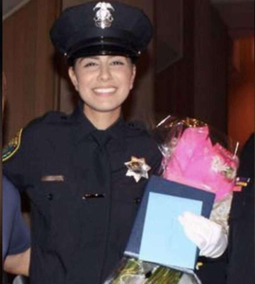 Just three weeks following her graduation from the police academy, Davis police officer Natalie Corona, 22, was shot Thursday, Jan. 10, 2019 after she responded to the scene of a three-car accident. She died at a local hospital. The as-yet unidentified gunman was later found dead of a self-inflicted gunshot wound. Photo: Davis Police Department