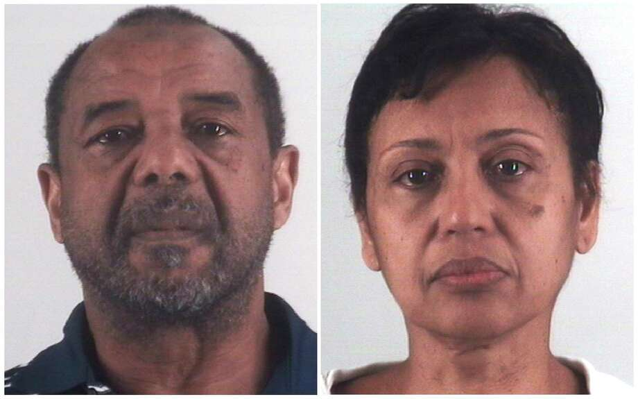 Mohamed Toure, left, and Denise Cros-Toure, were found guilty of forcing a Guinean girl to cook, clean and care for their children for 16 years.  >>Learn more about the crimes that shocked Texas in the photos that follow... Photo: TARRANT COUNTY SHERIFF'S DEPARTMENT, NYT / TARRANT COUNTY SHERIFF'S DEPARTMENT