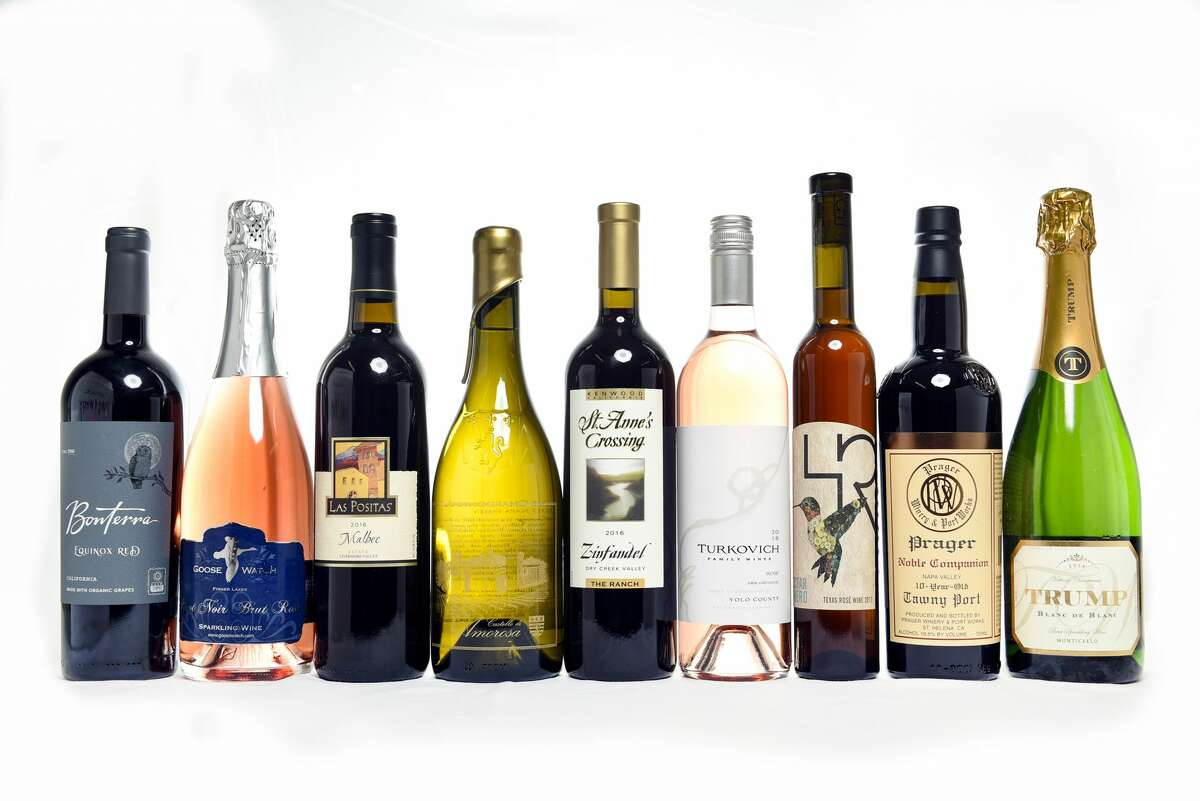 Sweepstake medal winners of the 2019 San Francisco Chronicle Wine Competition held at the Cloverdale Citrus Fair Grounds in Cloverdale, Calif., on Friday Jan.11, 2019.