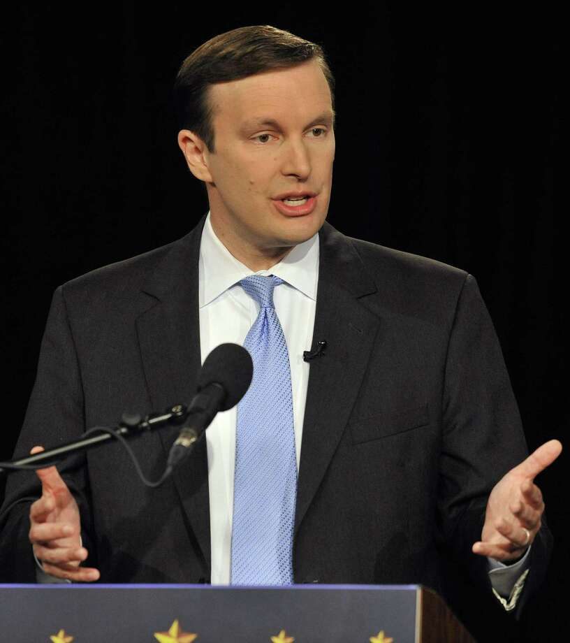 U.S. Sen. Chris Murphy will conduct a town hall meeting with Valley residents Saturday, Jan. 12, 2019 beginning at 2 p.m. in the Derby Middle School cafeteria, 73 Chatfield Street. Photo: Jessica Hill / Associated Press / FR125654 AP