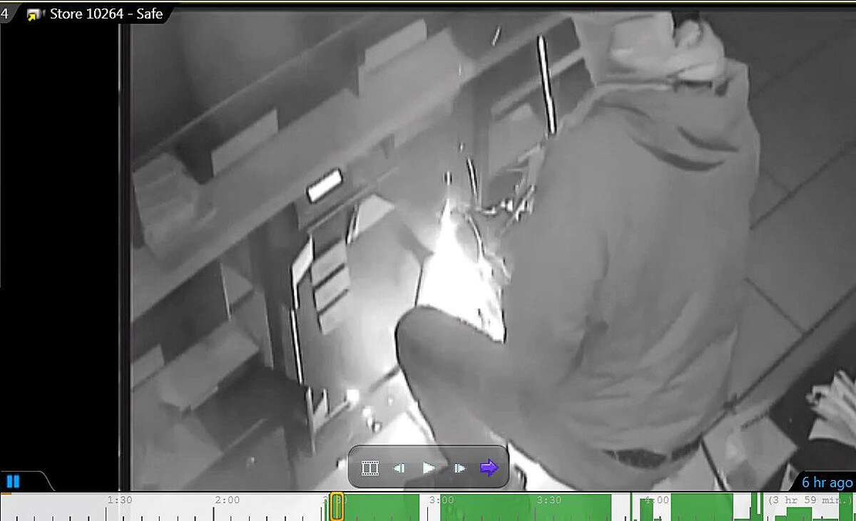 Police are hoping the public can help them identify the person who broke into a Starbuck in Fairfield, Conn., on Jan. 8, 2019.