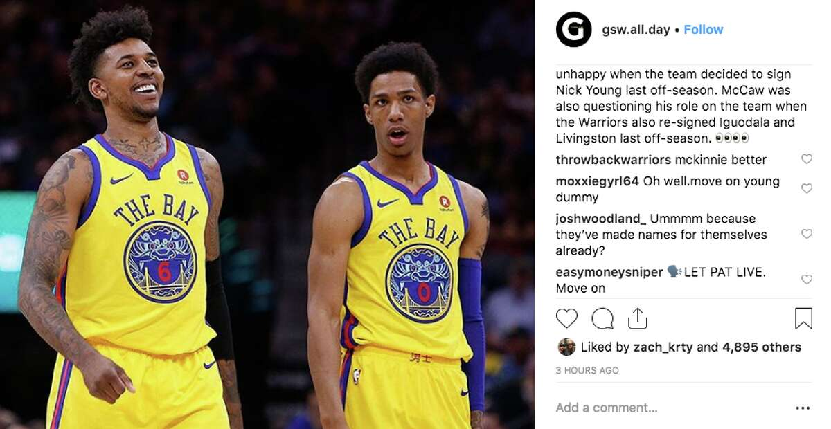 """Kevin Durant told a fan page to """"move on"""" from the Patrick McCaw saga."""