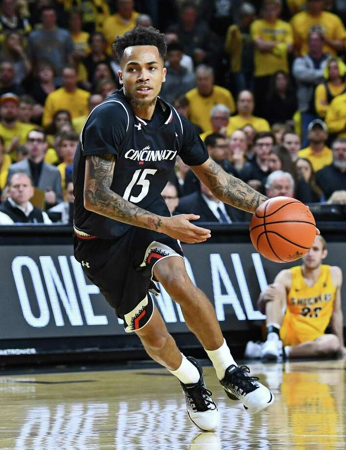 Cane Broome and Cincinnati host UConn on Saturday. Photo: Peter G. Aiken / Getty Images / 2018 Peter G. Aiken