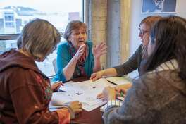 Visionary finalist, Martha Ryan, founder and exec director of the Homeless Prenatal Project Tuesday 08 January 2019 in San Francisco, CA. (Peter DaSilva Special to the Chronicle)