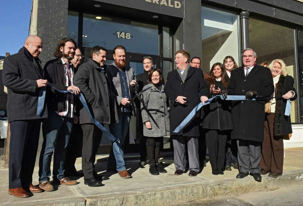 Here's what's new in Schenectady development. The Clinton Street Apartments were officially opened with a ribbon-cutting ceremony on Friday, Jan. 11, 2019.