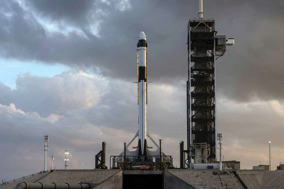 The SpaceX Falcon 9 rocket and Crew Dragon spacecraft rolled out to Launch Complex 39A and went vertical for a dry run to prep for the upcoming Demo-1 flight test - the first test flight of NASA's commercial crew program meant to eventually take humans to the International Space Station. The vehicle initially was supposed to launch Jan. 17, but that date has been delayed until February so that more tests can be run. It doesn't help that the government has been shutdown since Dec. 22, either.