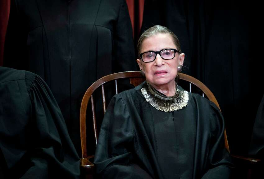 FILE -- Justice Ruth Bader Ginsburg at the Supreme Court in Washington on Nov. 30, 2018. Ginsburg is cancer free and on the mend after her recent surgery for the disease, a Supreme Court spokeswoman said on Friday, Jan. 11, 2019. (Doug Mills/The New York Times)