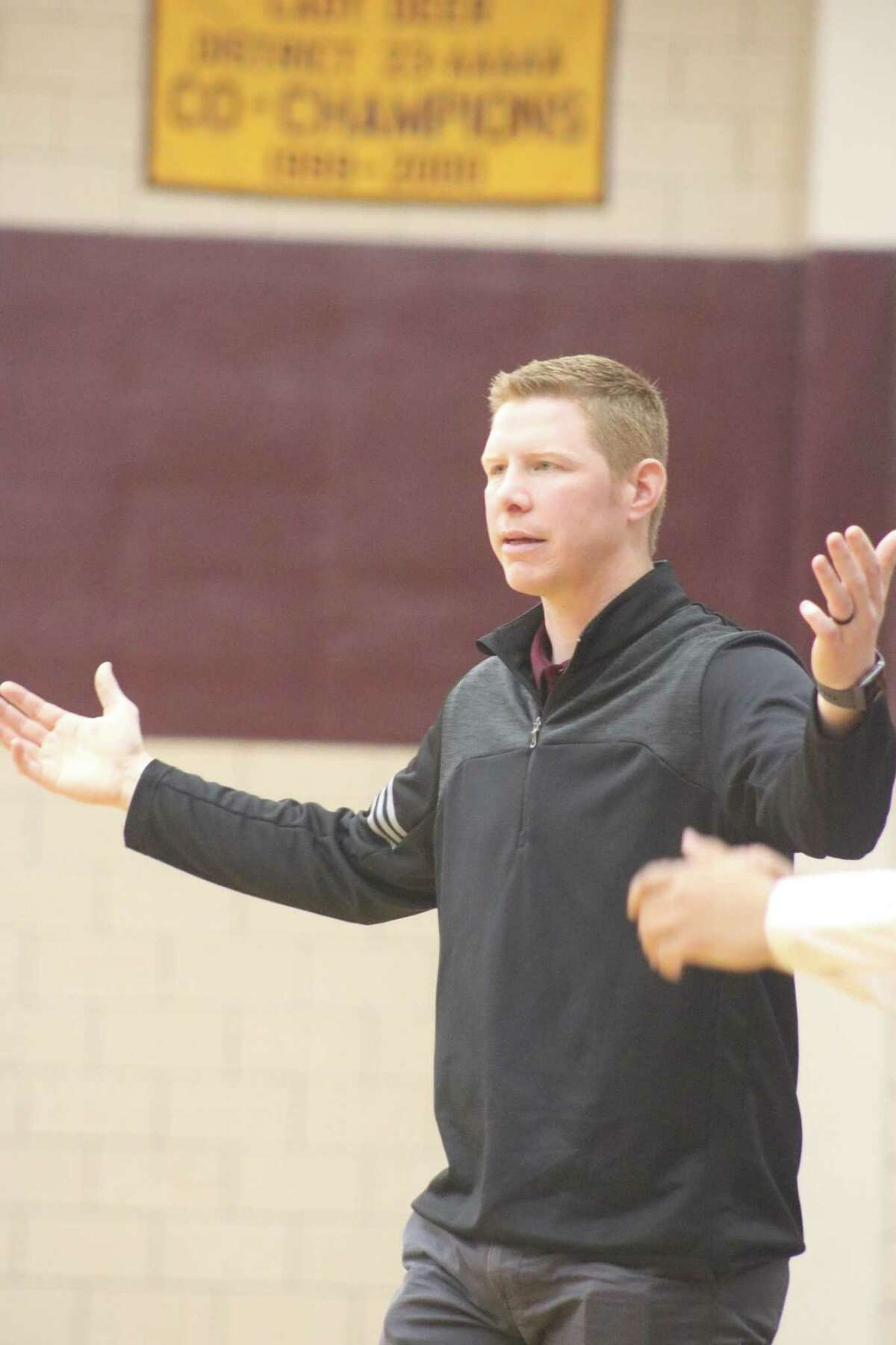Deer Park head coach Ryan Bright's relief to end a two-game District 21-6A skid was this wide Friday night, after slamming Sterling 71-36.
