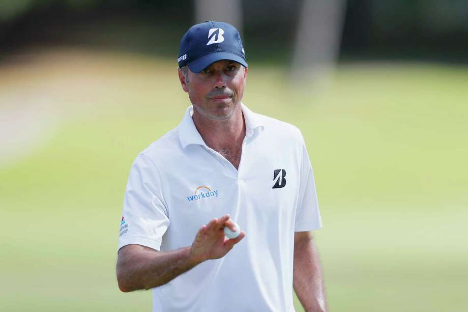 HONOLULU, HI - JANUARY 11:  Matt Kuchar of the United States acknowledges the crowd on the fifth green during the second round of the Sony Open In Hawaii at Waialae Country Club on January 11, 2019 in Honolulu, Hawaii.  (Photo by Kevin C. Cox/Getty Images) Photo: Kevin C. Cox / 2019 Getty Images