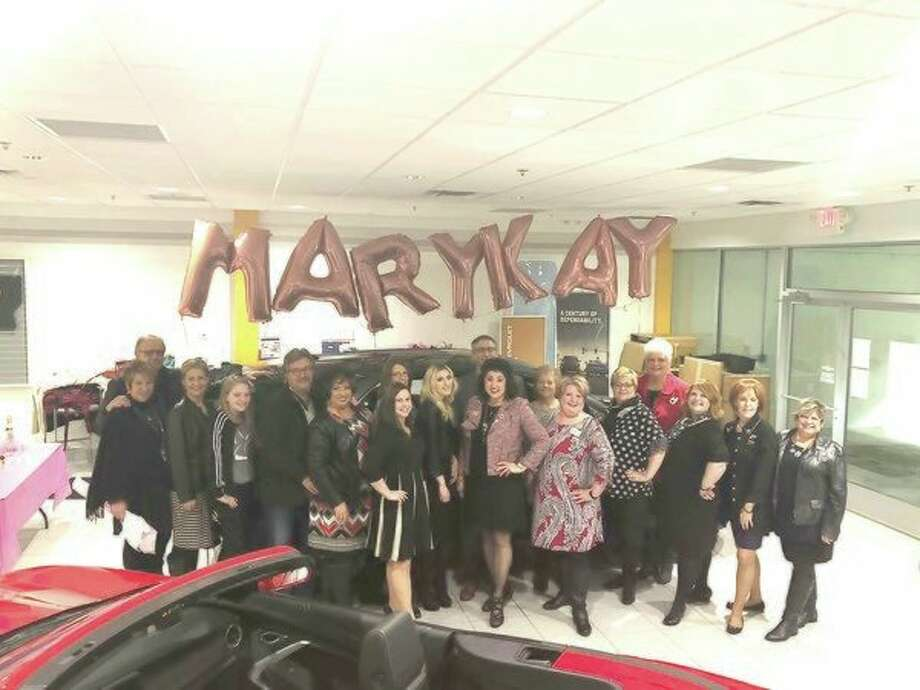 Kim Loebig, a Mary Kayindependent sales director recently celebrated the arrival of her third free Mary Kay Car,a Chevy Equinox, with her Shining Stars unit members. Family, friends, and other Mary Kay sisters gatheredat the event. They were honored to have special appearances from Judy Kawiecki, NSD emeritus, and Jackie Shaw, future executive senior sales director.Loegib thankedthe Garber Chevrolet team, especially host Gage Mashue. Loegib said: 'I love how the Mary Kay opportunity has empowered me to be a leader that values my unit members, as well as other Mary Kay sisters, fulfilling my goals and dreams by helping them fulfill theirs.'