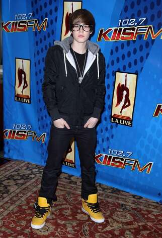 LOS ANGELES, CA - FEBRUARY 13:  Singer Justin Bieber poses after his free concert presented by KIIS-FM at Nokia Plaza L.A. Live on February 13, 2010 in Los Angeles, California.  (Photo by Angela Weiss/Getty Images) *** Local Caption *** Justin Bieber Photo: Angela Weiss, Getty Images / 2010 Getty Images