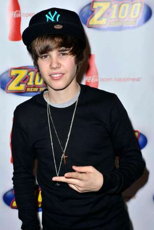 NEW YORK - DECEMBER 11:  Justin Bieber attends the Z100 & Coca Cola All Access Lounge pre-show at Hammerstein Ballroom on December 11, 2009 in New York City.  (Photo by Rob Loud/Getty Images) *** Local Caption *** Justin Bieber Photo: Rob Loud, Getty Images / 2009 Getty Images