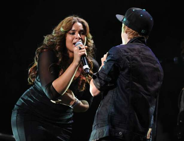 NEW YORK - DECEMBER 11:  Jordin Sparks and Justin Bieber perform onstage during Z100's Jingle Ball 2009 at Madison Square Garden on December 11, 2009 in New York City.  (Photo by Bryan Bedder/Getty Images) *** Local Caption *** Jordin Sparks;Justin Bieber Photo: Bryan Bedder, Getty Images / 2009 Getty Images