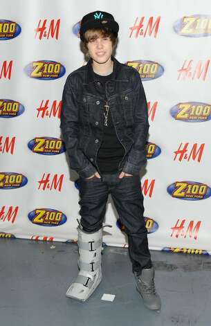 NEW YORK - DECEMBER 11:  Singer Justin Bieber attends Z100's Jingle Ball 2009 at Madison Square Garden on December 11, 2009 in New York City.  (Photo by Jason Kempin/Getty Images) *** Local Caption *** Justin Bieber Photo: Jason Kempin, Getty Images / 2009 Getty Images