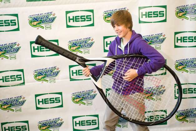 NEW YORK - AUGUST 29:  Justin Bieber attends the 2009 Arthur Ashe Kids Day at the USTA Billie Jean King National Tennis Center on August 29, 2009 in Corona, New York.  (Photo by Rob Loud/Getty Images) *** Local Caption *** Justin Bieber Photo: Rob Loud, Getty Images / 2009 Getty Images