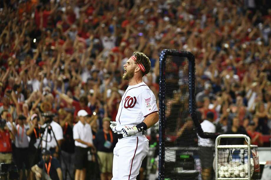 Bryce Harper just might decide the best place for his future is in Washington. Photo: Washington Post Photo By Katherine Frey / The Washington Post