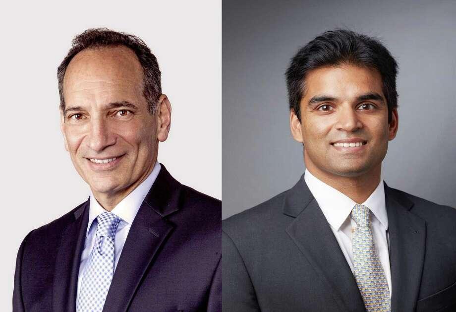 Dr. Kenneth Kramer, left, and Dr. Arya Varthi Photo: Contributed Photos
