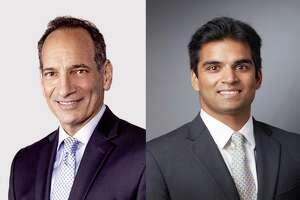 Dr. Kenneth Kramer, left, and Dr. Arya Varthi