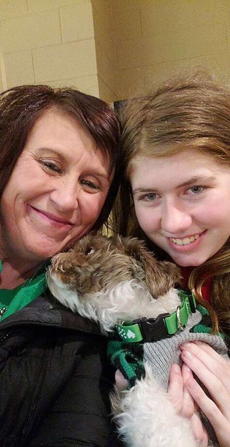 This Friday, Jan. 11, 2019 photo shows Jayme Closs, right, with her aunt, Jennifer Smith in Barron, Wis. Jake Thomas Patterson, a 21-year-old man killed a Wisconsin couple in a baffling scheme to kidnap Jayme Closs, their teenage daughter, then held the girl captive for three months before she narrowly managed to escape and reach safety as he drove around looking for her, authorities said. (Jennifer Smith via AP) Photo: Jennifer Smith, Associated Press