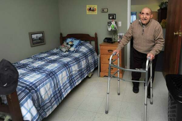 STAR resident Jimmy Natale Friday at his group home in Norwalk. A new report by ANCOR Foundation ranks Connecticut 31st among all states in efforts to serve people with intellectual and developmental disabilities.