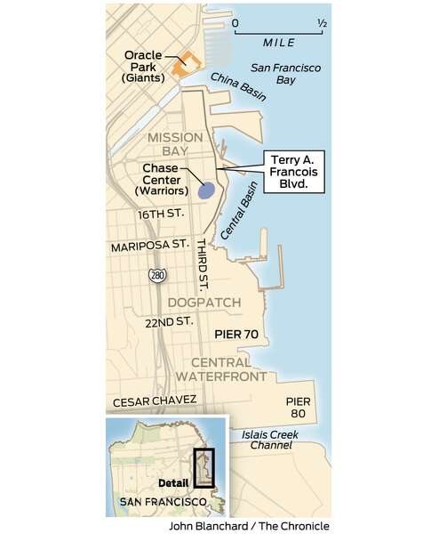 Pier 70 San Francisco Map.On The Sf Waterfront Where Old Meets New Sfchronicle Com