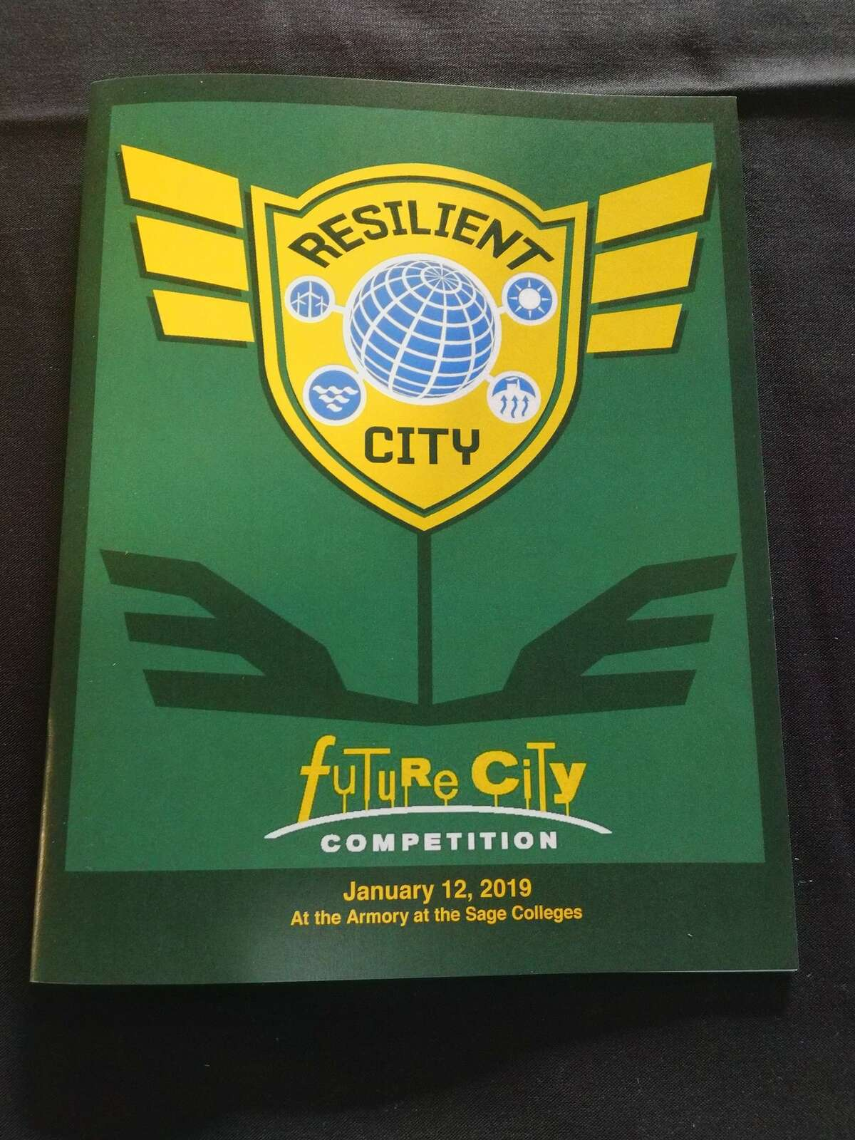 The Future City competition held at the Armory at Sage College on Saturday Jan. 12, 2019, in Albany. (Photo provided)