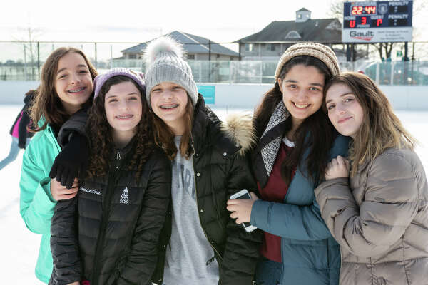 Were you SEEN skating at the Westport PAL Rink at Longshore on January 12, 2019?