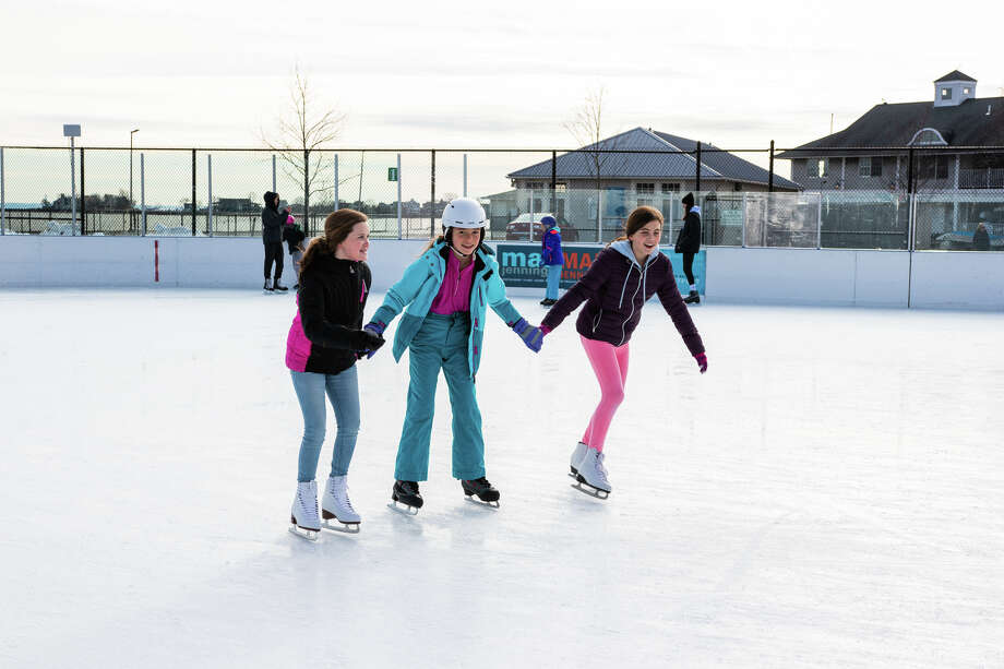 Were you SEEN skating at the Westport PAL Rink at Longshore on January 12, 2019? Photo: Ken Honore Of Direct Kenx Media