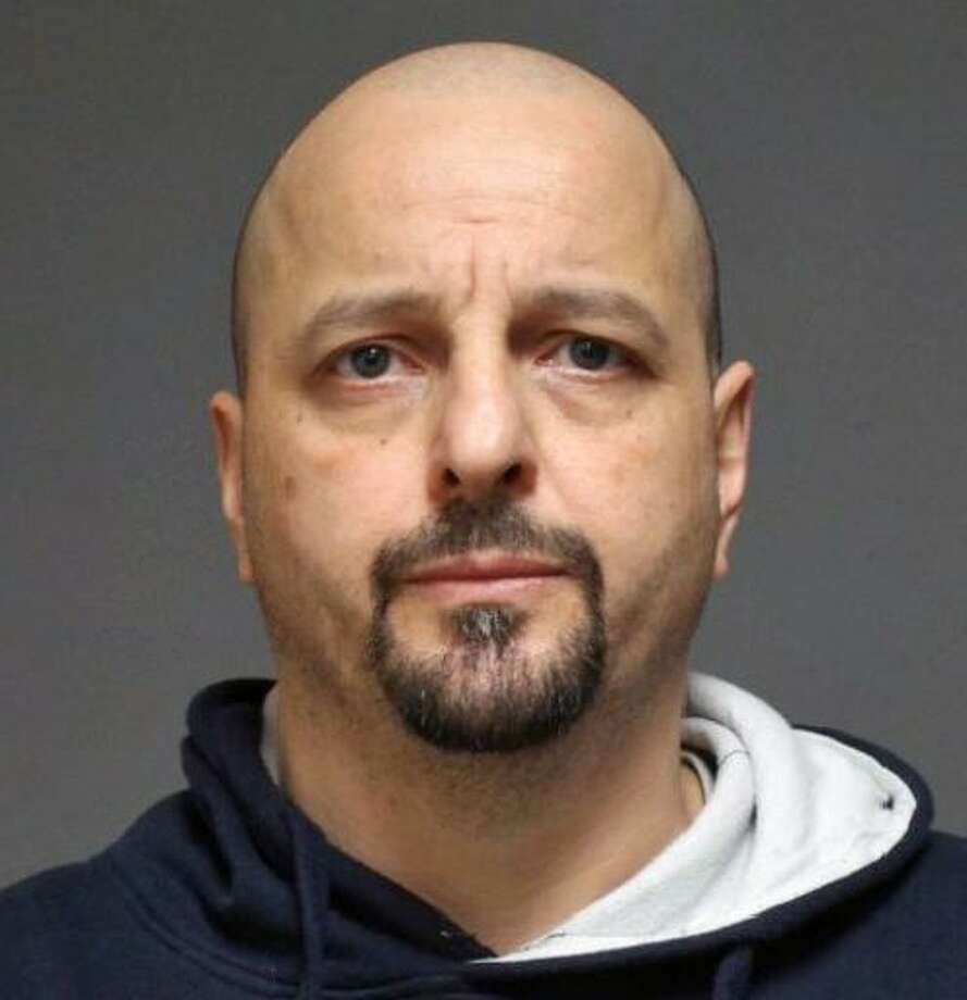 Konstantinos Avramidis, 45, of Fort Point Street in Norwalk, was charged Monday with fourth-degree sexual assault, public indecency, second-degree breach of peace and two counts of second-degree harassment. Photo: Contributed Photo / Fairfield Police Department / Contributed Photo / Connecticut Post Contributed