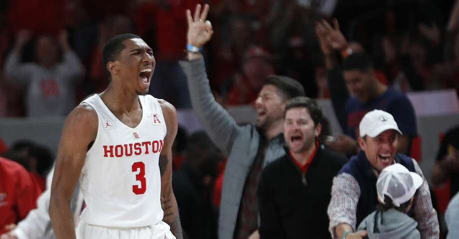 Armoni Brooks Houston Cougars Basketball Jersey - Red