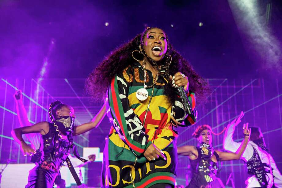 FILE - In this July 7, 2018 file photo, Missy Elliott performs at the 2018 Essence Festival in New Orleans. Missy Elliott is making history as the first female rapper inducted into the Songwriters Hall of Fame, whose 2019 class also includes legendary British singer Cat Stevens and country-folk icon John Prine. The organization announced the new group of inductees Saturday, Jan. 12, 2019. (Photo by Amy Harris/Invision/AP, File) Photo: Amy Harris / Invision