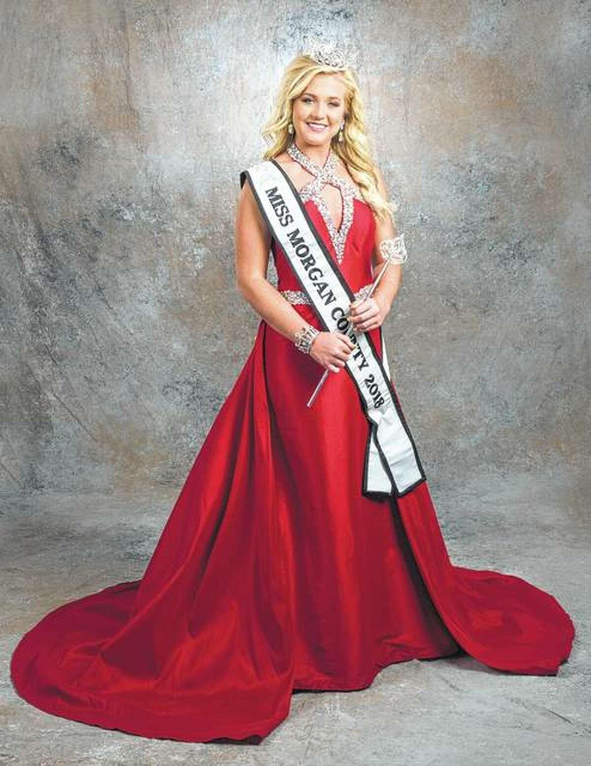 Miss Morgan County 2018 Savannah Long will compete this week