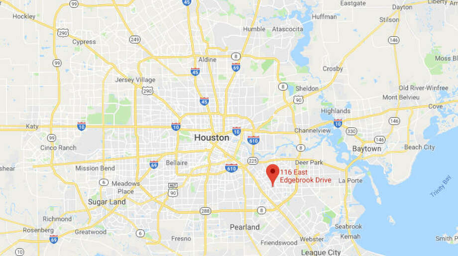 A man was found shot to death early Sunday in southeast Houston. Photo: Google Maps