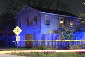 A man was shot to death at a residence in north Houston on Saturday night.