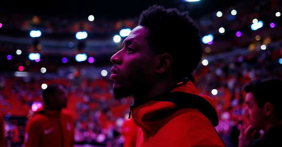 PHOTOS: Rockets game-by-game Brandon Knight #2 of the Houston Rockets looks on during the pregame introductions against the Miami Heat at American Airlines Arena on December 20, 2018 in Miami, Florida. (Photo by Michael Reaves/Getty Images) Browse through the photos to see how the Rockets have fared in each game this season. Photo: Michael Reaves/Getty Images