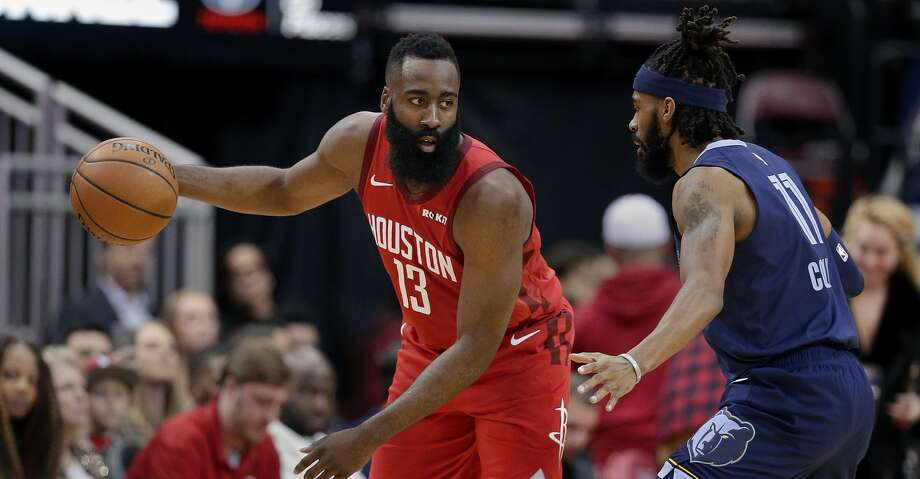 PHOTOS: Rockets game-by-game Houston Rockets guard James Harden (13) waits to progress a play as Memphis Grizzlies guard Mike Conley (11) defends during the first half of an NBA basketball game Monday, Dec. 31, 2018, in Houston. (AP Photo/Michael Wyke) Browse through the photos to see how the Rockets have fared in each game this season. Photo: Michael Wyke/Associated Press