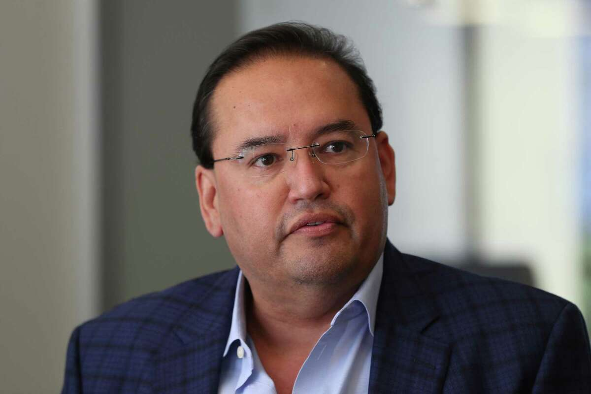 Elias De La Garza, candidate for Texas House District 145, pictured Friday, Jan. 11, 2019, in Houston.