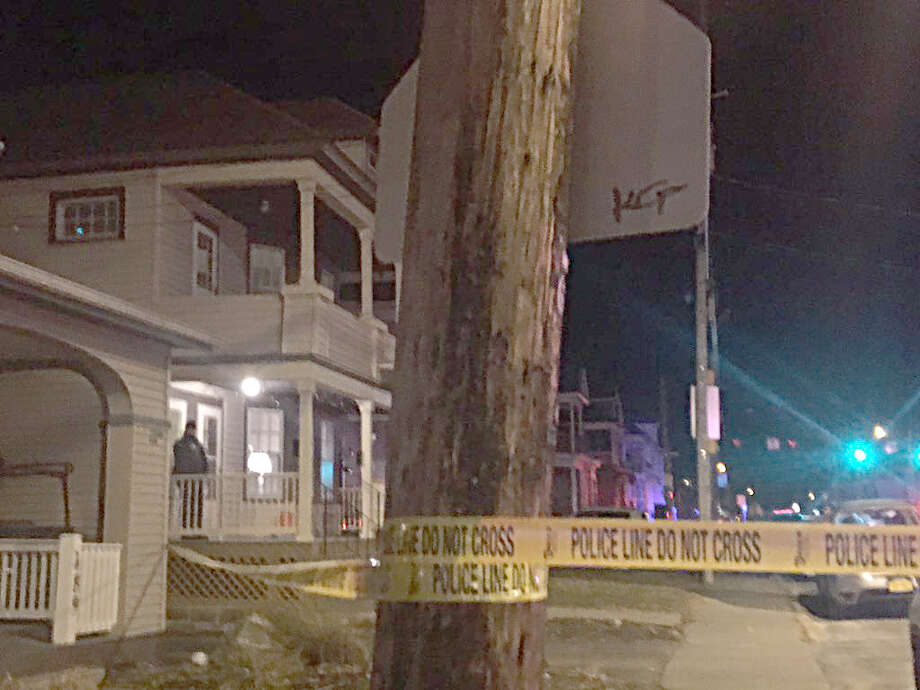 The Troy Police Department investigating the suspicious death of a female in her early 20s on Sunday, Jan. 13, 2019 at 491 Pawling Avenue, Troy. A woman in her early 20s was discovered by police during a welfare check.  Photo: Mallory Moench, Times Union