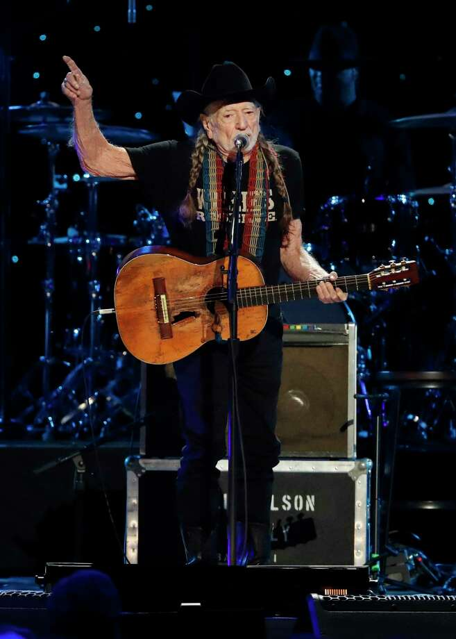 Willie Nelson performs at Willie: Life & Songs Of An American Outlaw at Bridgestone Arena on Saturday, Jan. 12, 2019, in Nashville, Tenn. (Photo by Al Wagner/Invision/AP) Photo: Al Wagner / 2019 Invision