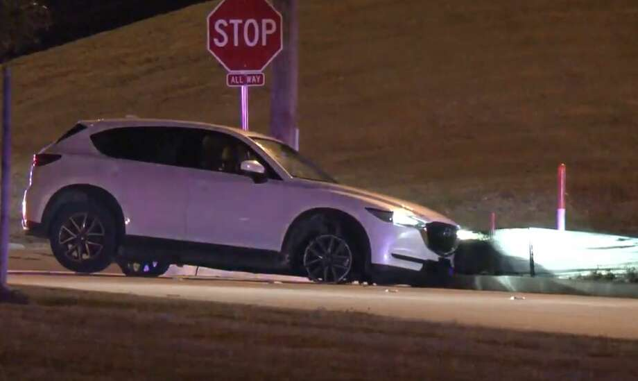 A chase ended on Highway 288 near East Orem on Monday, Jan. 14, 2019. Photo: Metro Video
