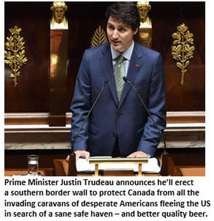 Prime Minister Justin Trudeau:  Keep the border unmilitarizeds