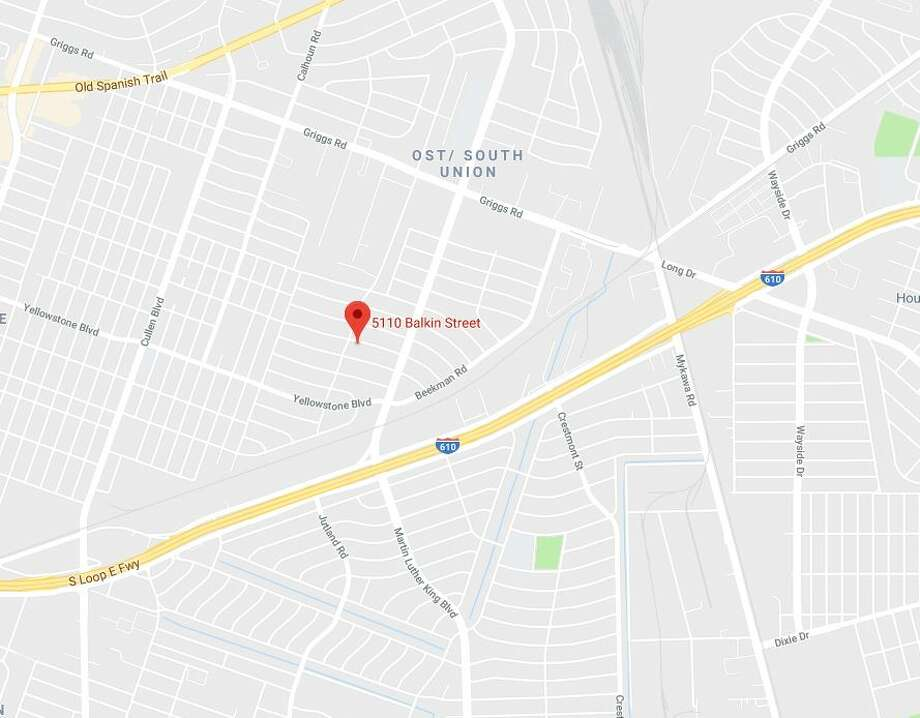 A man died in a drive-by shooting in the 5110 block of Balkin on Saturday, Jan. 12, 2019. Photo: Google Maps