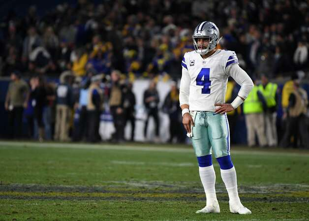 Dak Prescott, quarterback 2018 base salary: $630,000  Contract: 4 years, $2.7 million ($383,393 guaranteed) Can become a free agent after 2019 season. Photo: Harry How/Getty Images