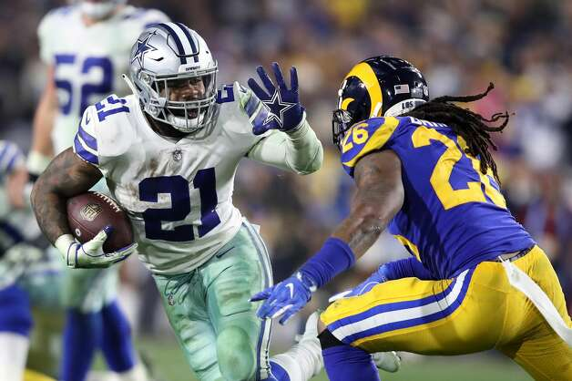 Ezekiel Elliott, running back 2018 base salary: $2.7 million  Contract: 4 years, $24.96 million ($24.5 million guaranteed) Can become a free agent after 2020 season Photo: Sean M. Haffey/Getty Images