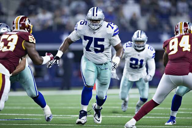 Cameron Fleming, offensive lineman 2018 base salary: $2.5 million  Contract: 1 year, $2.5 million Can become a free agent this offseason. Photo: Wesley Hitt/Getty Images