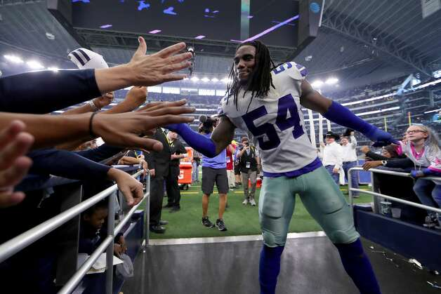 Jaylon Smith, linebacker 2018 base salary: $1.04 million  Contract: 4 years, $6.5 million ($4.4 million guaranteed) Can become a free agent after 2019 season. Photo: Tom Pennington/Getty Images