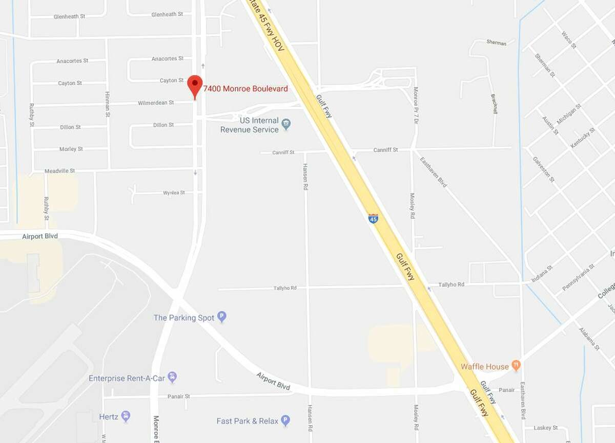 A man died in a crash in the 7400 block of Monroe on Friday, Jan. 11, 2019.