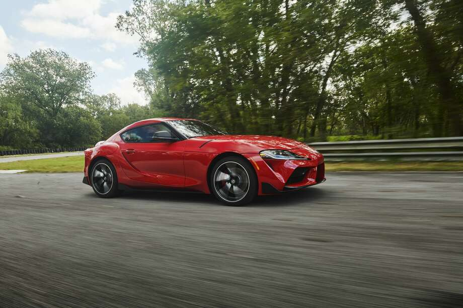 Toyota introduced the 2020 Toyota Surpa sports car at the 2019 North American International Auto Show in Detroit. Photo: Toyota