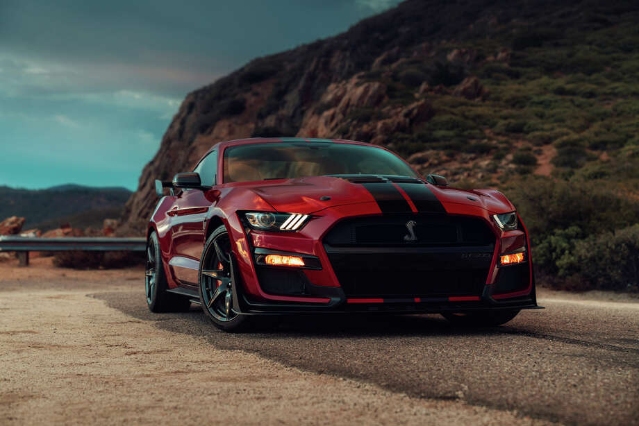 Ford introduce the 2020 Ford Shelby Mustang GT500 at the 2019 North American International Auto Show in Detroit. Photo: Ford Motor Co.